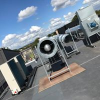 Connection of Canopies, Fresh Air & AC Systems